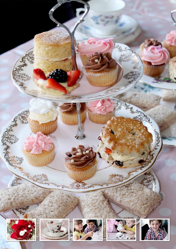 Cupcake Parties With Afternoon Tea Cakes By Rebecca Louise